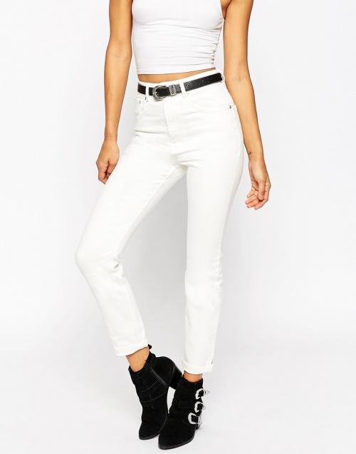Asos - jeans blanc