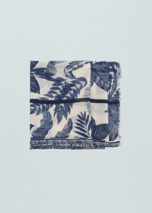 Mango - foulard bleu