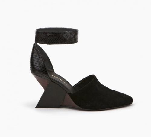 United Nude sandales talon découpe noires