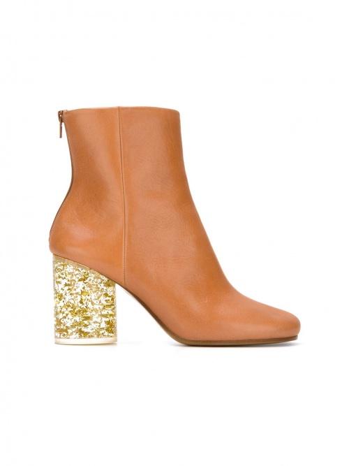 Maison Margiela  boots à talons paillettes