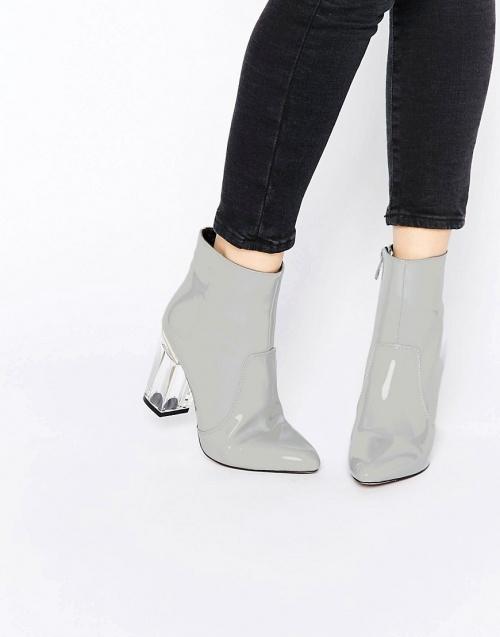 Public desire boots talon transparent