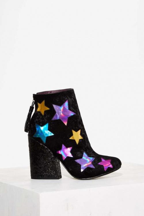 IRU boots talon paillettes