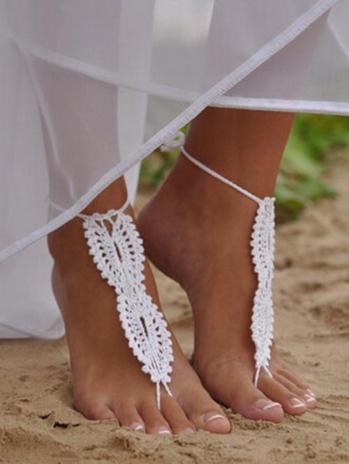 Choies bracelet de cheville tissus