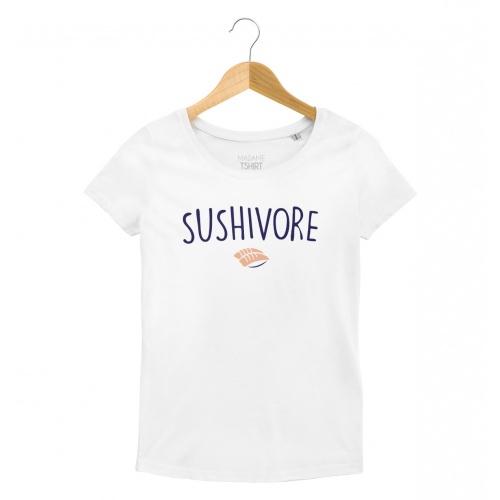 T-shirt Haut message food lovers