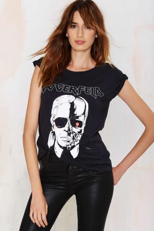 Style Stalker t-shirt lagerfeld terminator