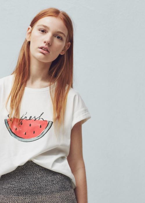 Mango  t-shirt pastèque