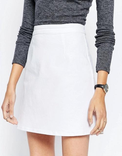 Asos - jupe blanche