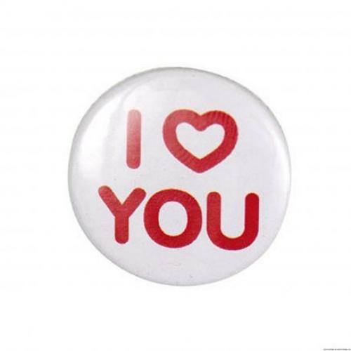 Coupons de Saint Pierre badge i love you
