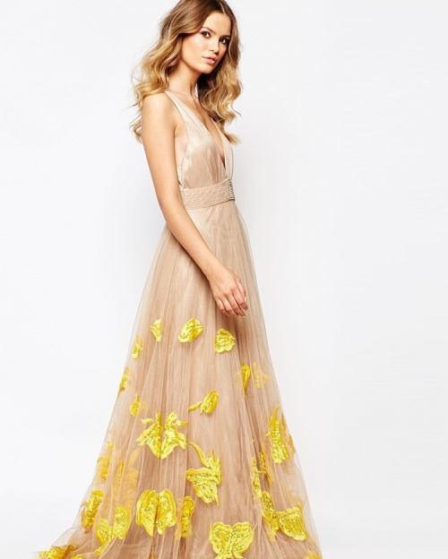 A Star is Born - Robe longue maxi tulle