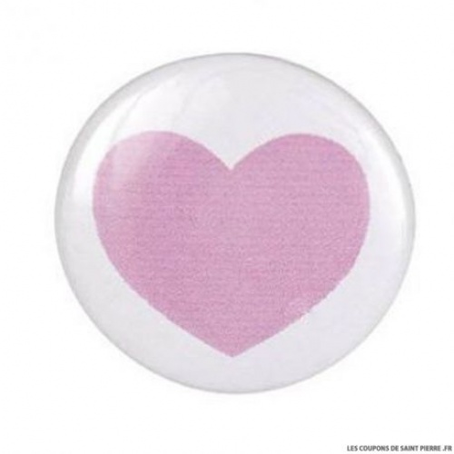 Coupons de Saint Pierre badge coeur