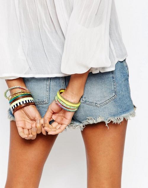 bracelet asos été mutli