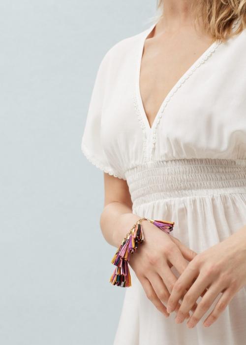bracelets franges