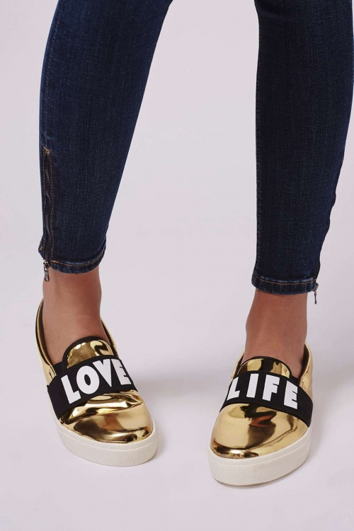 Topshop - Slip On love life