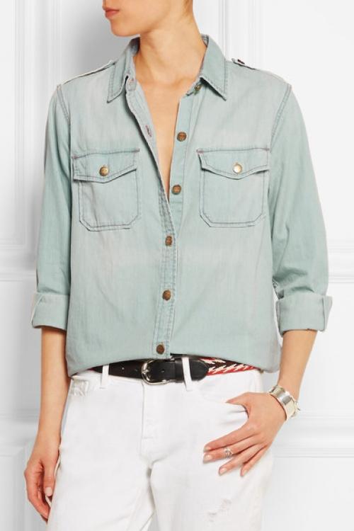 Current/Elliott chemise jean décontracté