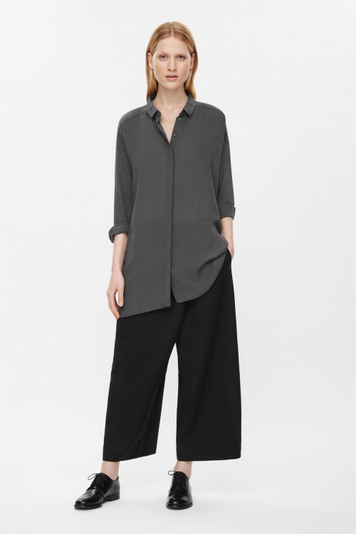 COS chemise oversize grise