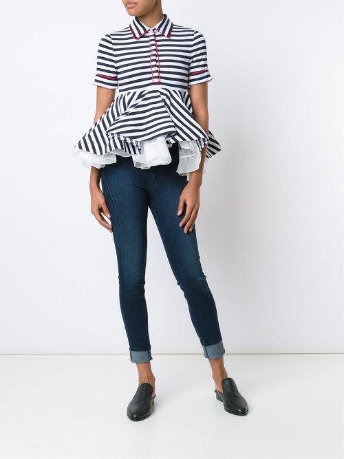 Natasha Zinko  blouse péplum