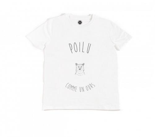 The Tops x Meetic t-shirt pour lui poilu comme un ours