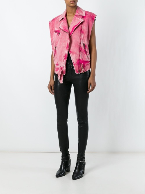 Roberto Cavalli  perfecto fourrure rose