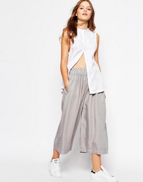 Waven jupe culotte