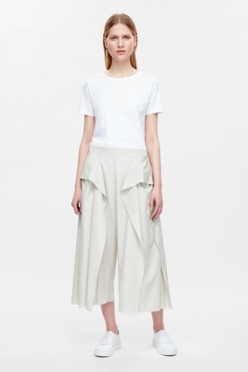 COS jupe culotte drapée