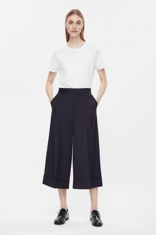 COS jupe culotte droite