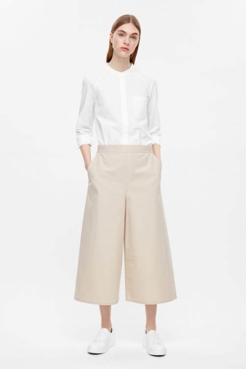 COS jupe culotte simili cuir