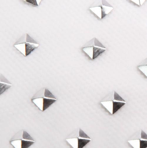 Charmies - Silver Pyramid Studs Hair Charms