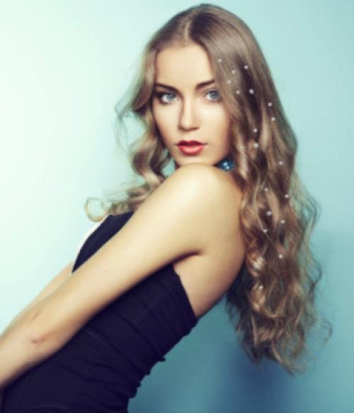 Sparkle Nation Hair Charms -Glitter Hair Charms