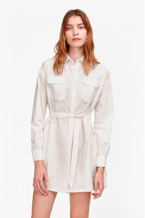 French Connection chemise blanche oversize