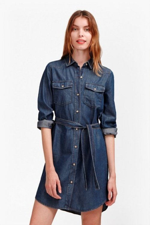 French Connection robe chemise en jean