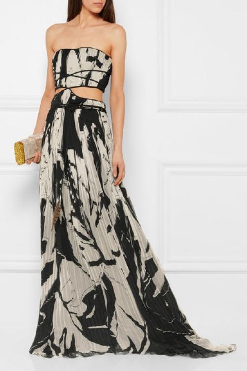 Roberto Cavalli  robe longue soirée taille fendue