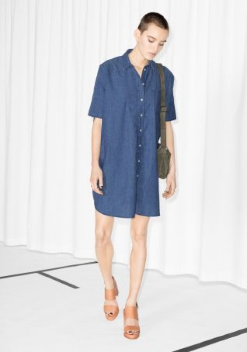& Other Stories chemise jean oversize