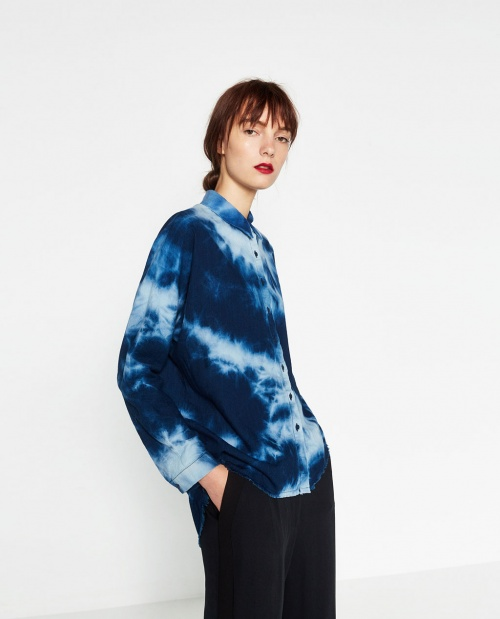 Zara - Chemise tie&dye