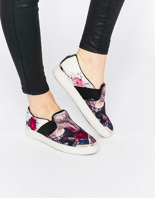 Ted Baker slip on tâches multi color