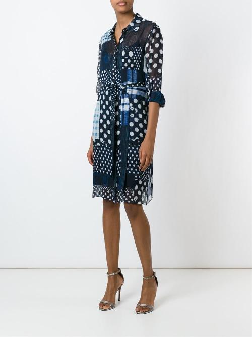 Diane von Furstenberg - Robe  patchwork