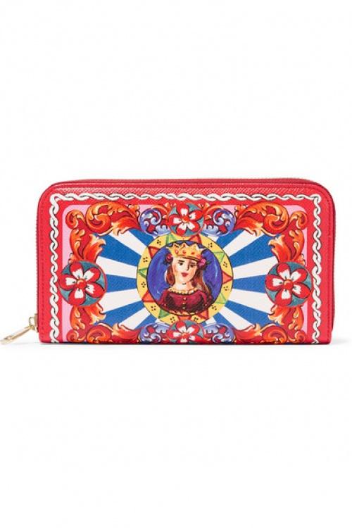 porte monnaie rouge rose