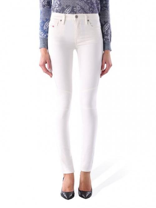 Diesel - Jean blanc super skinny