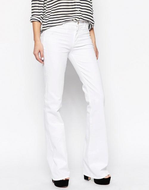 M.i.H Jeans - Jean blanc évasé