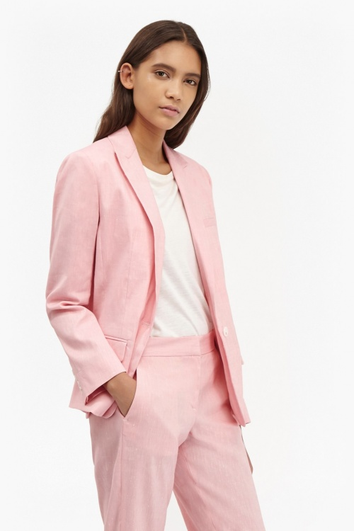 French Connection - Blazer rose pale