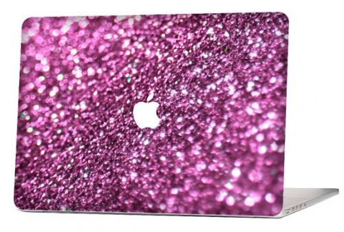 Autocollant Glitter MacBook