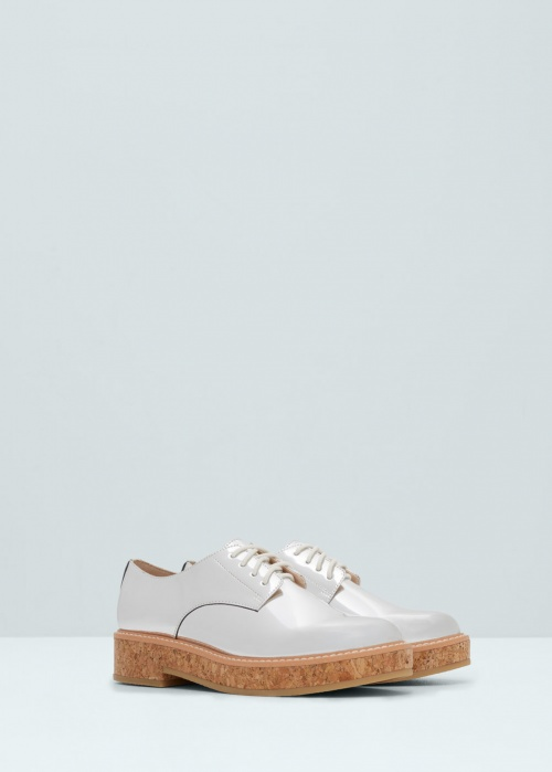 Mango - Derbies argent