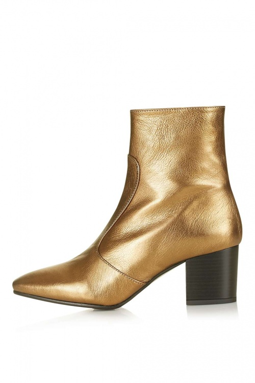Topshop - Boots gold