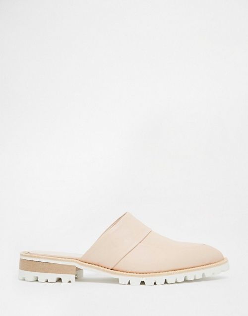 Whistles mules semelles blanches