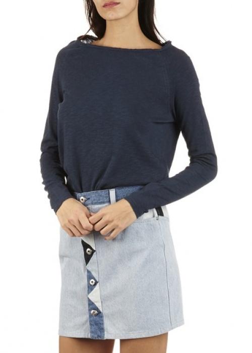 Diesel  jupe jean découpes