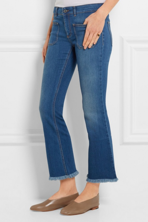 Stella Mc Cartney jean cropped