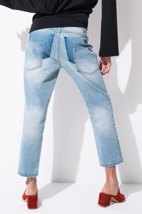 Front Row Shop  jean patch vintage retro