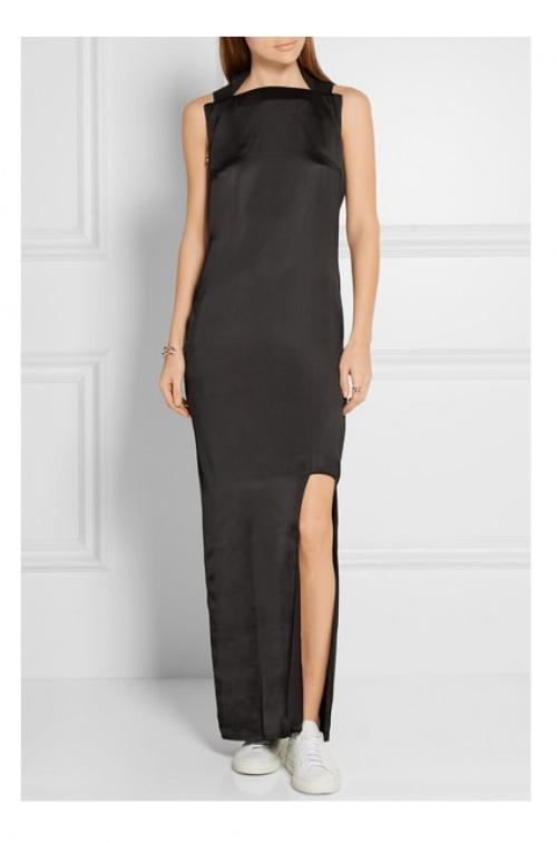 Acne Studio robe longue découpes