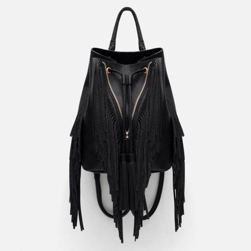 Zara sac à dos franges symétriques
