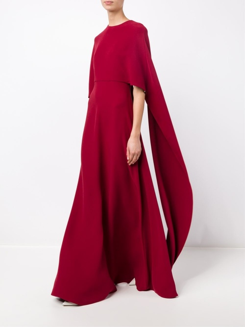 robe cape rouge