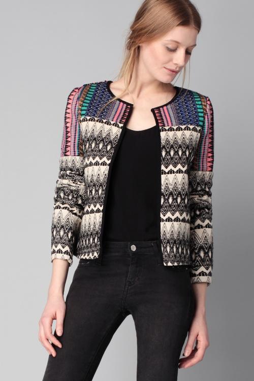 Vero Moda veste ethnique couleurs